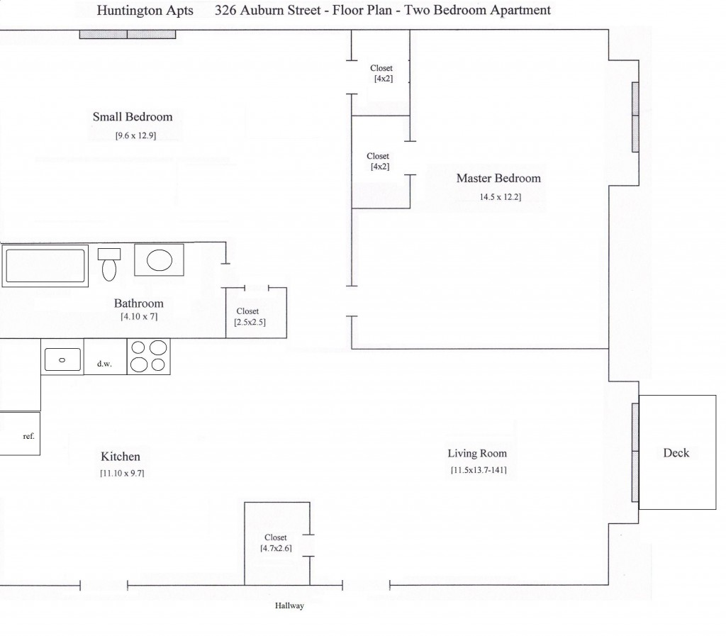 326 Auburn 2 bedroom