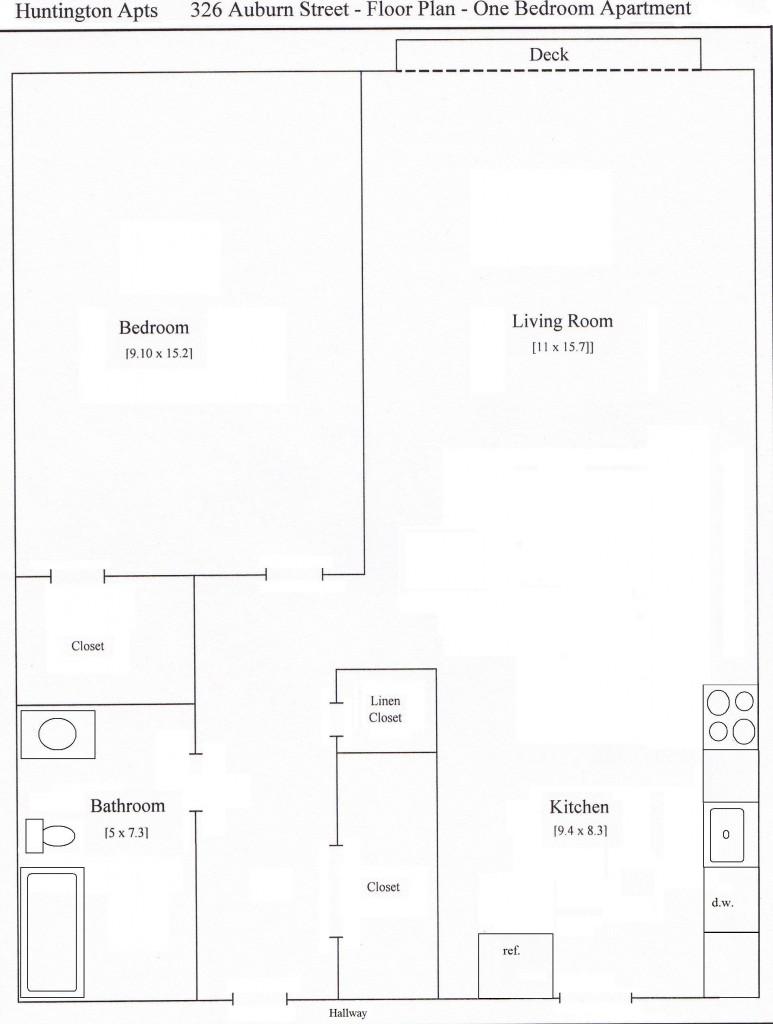 326 Auburn 1 Bed